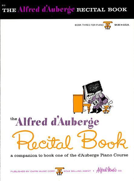 The Alfred D'auberge Recital Book