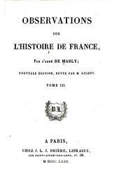 Observations sur l'histoire de France: Volume3