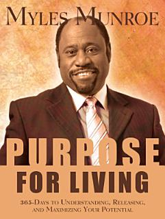 Purpose for Living Book