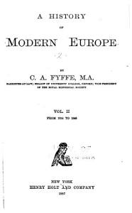 A History of Modern Europe  From 1814 to 1848 Book