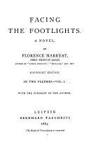 Facing the Footlights