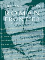 Life and Letters from the Roman Frontier PDF