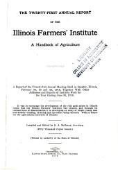 Annual Report of the Illinois Farmers' Institute