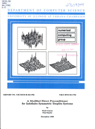 A Modified Direct Preconditioner for Indefinite Symmetric Toeplitz Systems PDF