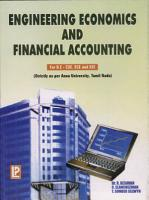 Engineering Economics and Financial Accounting PDF