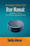 Amazon Echo Dot User Manual