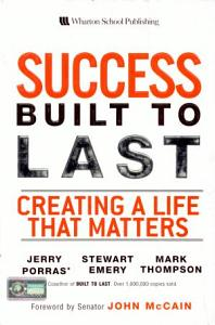 Success Built to Last Book