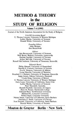 Pathologies in the Academic Study of Religion PDF