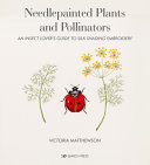 Needlepainted Plants and Pollinators