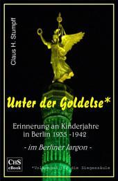 Unter der Goldelse: Erinnerungen an Kinderjahre in Berlin 1935 - 1942