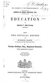 Census of Great Britain, 1851: Education in Great Britain