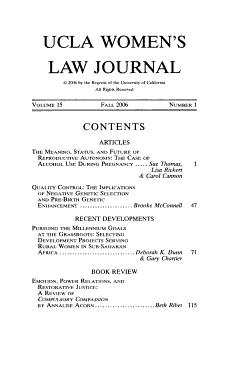 UCLA Women s Law Journal PDF