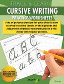 Trace & Learn - Cursive Writing