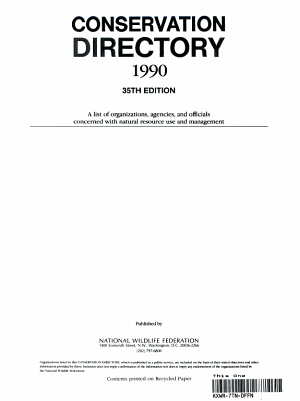 Conservation Directory PDF