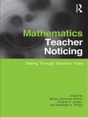 Mathematics Teacher Noticing PDF