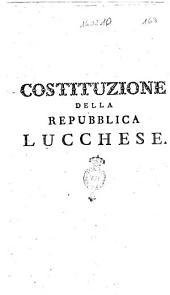 Costituzione della Repubblica lucchese