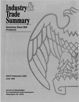 Industry and Trade Summary PDF