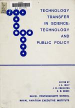 Technology Transfer in Science, Technology and Public Policy