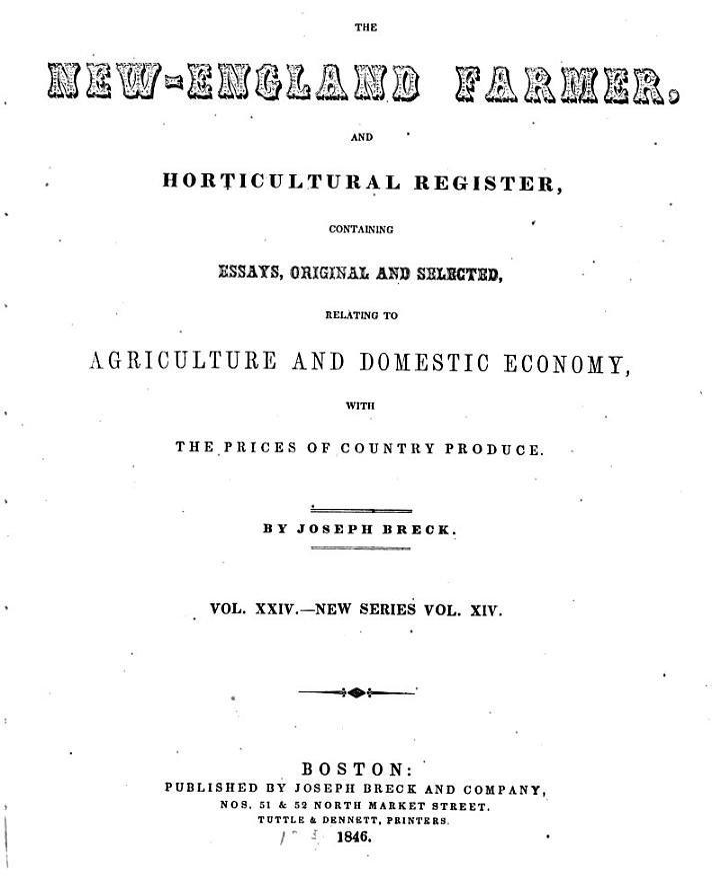 New-England Farmer