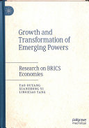 Growth and Transformation of Emerging Powers PDF