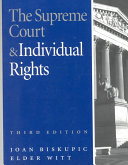 Download The Supreme Court and Individual Rights Book