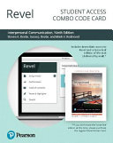 Revel for Interpersonal Communication PDF