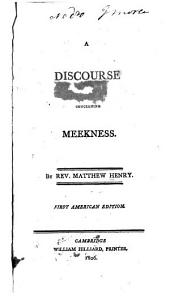 A Discourse Concerning Meekness