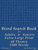 Word Search Book for Adults and Seniors PDF
