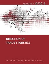Direction of Trade Statistics Quarterly  December 2015 PDF