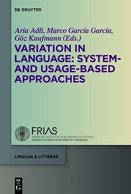 Variation in Language  System  and Usage based Approaches PDF