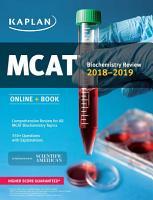 MCAT Biochemistry Review 2018 2019 PDF