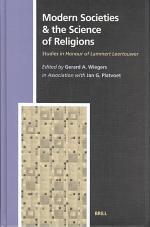 Modern Societies and the Science of Religions