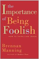 The Importance of Being Foolish PDF