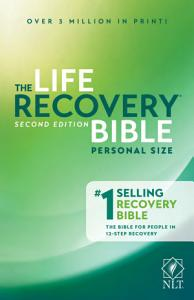Life Recovery Bible NLT  Personal Size Book