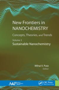 New Frontiers in Nanochemistry  Concepts  Theories  and Trends