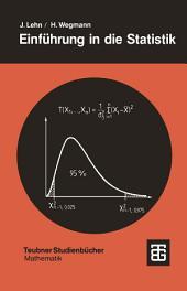 Einführung in die Statistik: Ausgabe 3