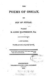 The Poems of Ossian, the Son of Fingal