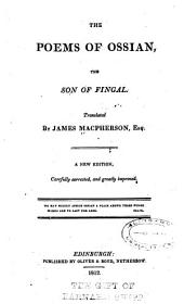 The Poems of Ossian: The Son of Fingal