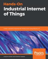Hands On Industrial Internet of Things PDF