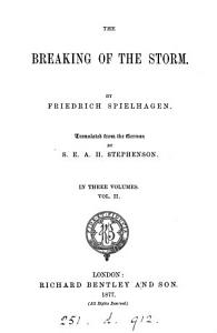 The breaking of the storm  tr  from  Sturmflut  by S E A H  Stephenson PDF