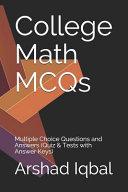 College Math MCQs PDF