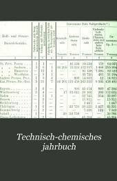 Technisch-chemisches jahrbuch: Band 7