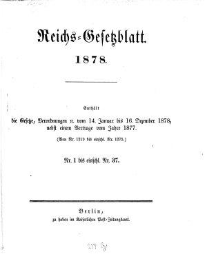 Reichsgesetzblatt PDF