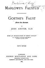 Marlowe's Faustus