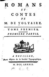 Romans et contes: Volume1