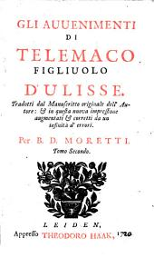 Gli avvenimenti di Telemaco figliuolo d'Ulisse: Volume2