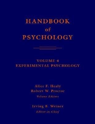 Handbook of Psychology  Experimental Psychology PDF