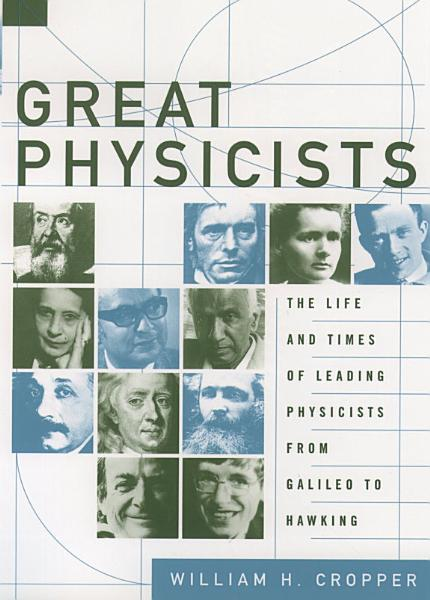 Download Great Physicists Book
