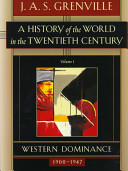 A History of the World in the Twentieth Century Book