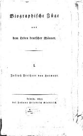 Biographische Züge aus dem Leben deutscher Männer